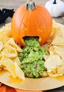 halloween calabaza nachos