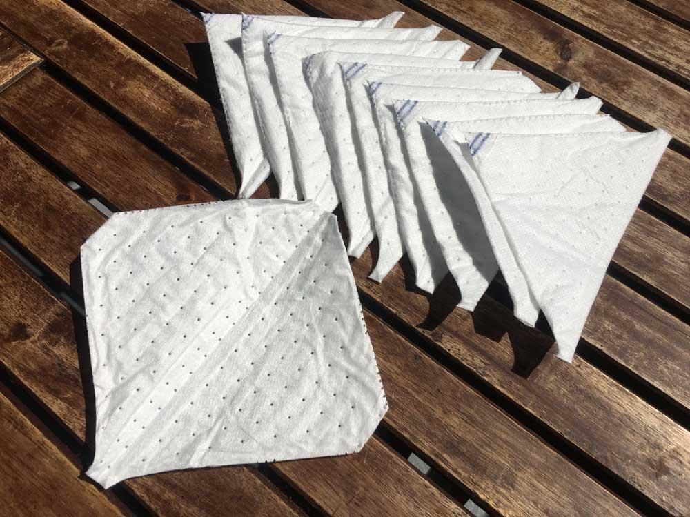 Filtre média FFP2 a découper pour masque en tissu