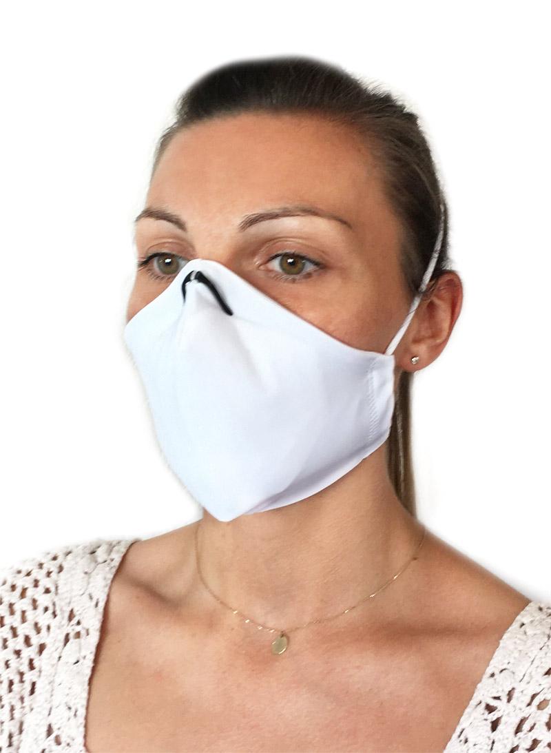 masque de protection en tissu rechargeable fabriqué en france