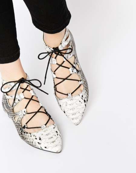 asos lana lace up