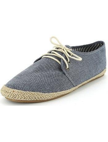 Zapatillas estilo alpargata Kiabi