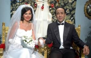 اشرف عبد الباقي ورانيا فريد شوقي في مسلسل ابو ضحكة جنان