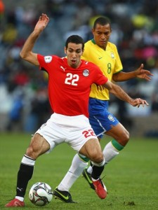 ابو تريكة يلعب مع منتخب مصر في تصفيات كأس العالم 2010