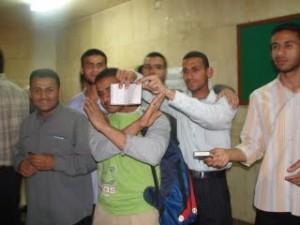 طلاب الازهر الشريف الجزائريين في امان