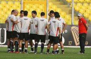 اعداد منتخب مصر لبطولة كأس الامم الافريقية انجولا 2010