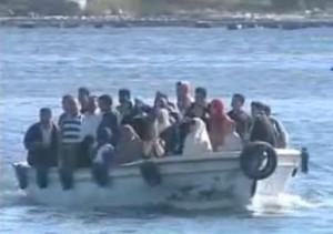 معدية في مكان حادث رشيد بين محافظة كفر الشيخ و البحيرة