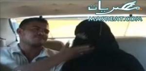 برنامج تاكسي و زوج يضرب زوجته المنقبة