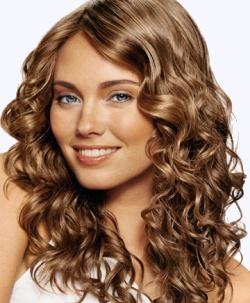 طريقة عمل تسريحات شعر كيرلي بتموجات خصلات الشعر الطبيعية