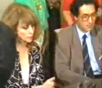 فيروز مع فاروق حسني في القاهرة | فيديو