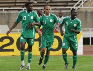 اهداف مباراة الجزائر ونيجيريا