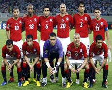 منتخب مصر انجولا 2010