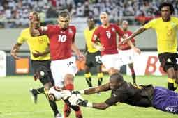 مشاهدة مباراة مصر والكاميرون | انجولا 2010