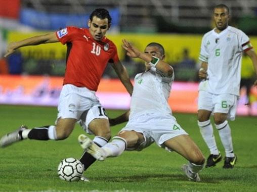 بنجيلا تستعد لاستقبال اقوى لقاءات انجولا 2010 مباراة مصر والجزائر