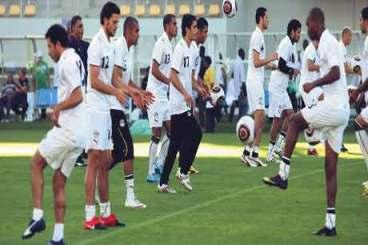 الاستعداد لنهائي امم افريقيا مباراة مصر وغانا