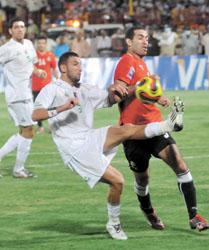 مباراة مصر والجزائر القادمة | انجولا 2010