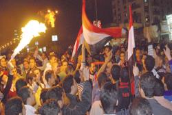 حفل تكريم منتخب مصر في ستاد القاهرة