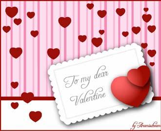كروت عيد الحب be my valentine