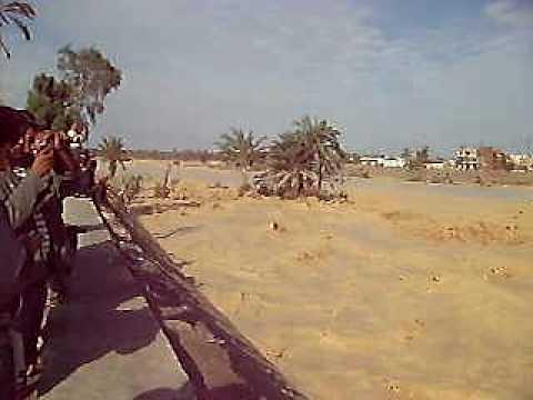 السيول ضربت شمال سيناء من جديد..وتتجه للعريش