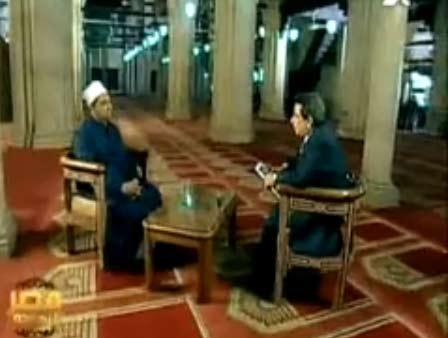 شيخ الازهر احمد الطيب في مصر النهاردة : دعاة الفضائيات ممثلين وبرامجهم ضارة
