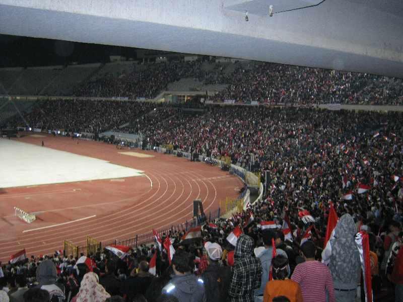 مباراة مصر وفلسطين في القدس الشريف