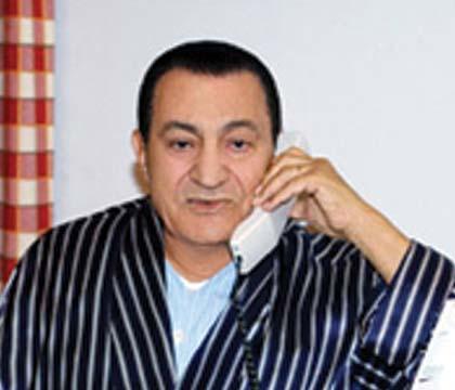 الرئيس مبارك يمنع نشر تهاني بسلامة صحته في وسائل الاعلام