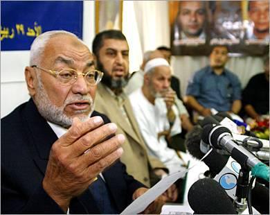 اخبار الاخوان المسلمين في مصر: تجديد حبس نائب المرشد و 13 من القيادات
