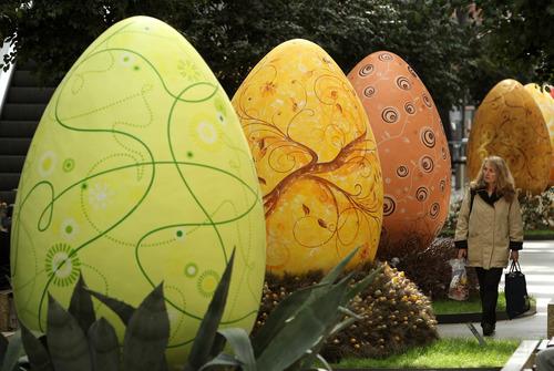 صور بيض شم النسيم عملاقة