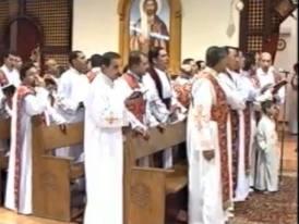 قداس عيد القيامة 2011