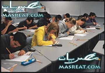 في امتحانات الدبلومات الفنية لا تهاون مع أي تجاوزات