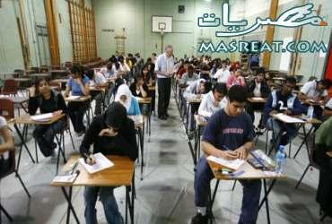 امتحانات الشهادة الاعدادية 2010 بلا مشاكل في اسوان