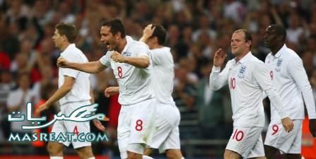 اهداف مباراة انجلترا وسلوفينيا في كأس العالم 2010 وتصفيات المجموعة الثالثة