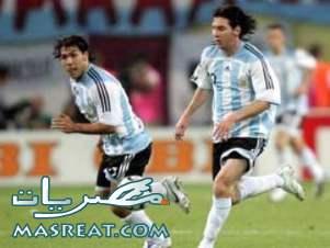 اهداف مباراة الارجنتين و المكسيك برعاية دييجو مارادونا مع راقصي التانجو