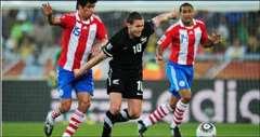 باراجواي تتأهل متصدرة للدور الـ 16 على حساب نيوزيلندا