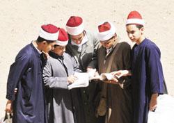 امتحانات الشهادة الثانوية الازهرية 2010