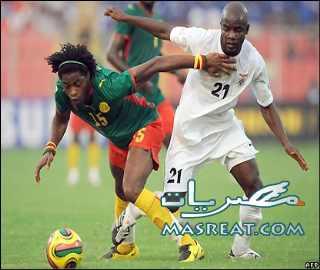 مباراة الكاميرون واليابان بـ كأس العالم 2010 صدام افرو اسيوي