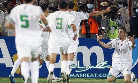 في مباراة الجزائر اليوم بـ كأس العالم 2010 من الاخر ناوي تشجع مين