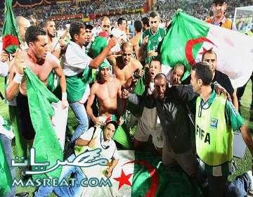 مباراة الجزائر وسلوفينيا