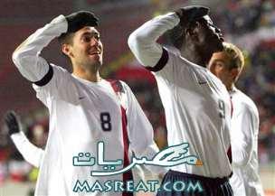 نتيجة مباراة امريكا و غانا