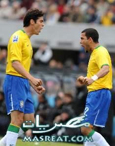 اهداف مباراة البرازيل و هولندا