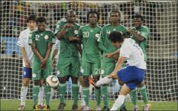 منع منتخب نيجيريا من اللعب بأي بطولة بامر الرئيس بعد مونديال 2010