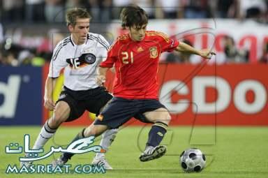 نتيجة مباراة المانيا و اسبانيا