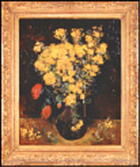 اصابع الاتهام في سرقة لوحة زهرة الخشخاش تشير الى العاملين بالمتحف