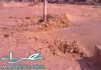 سيول السلوم و براني بمطروح : مصرع واصابة 24