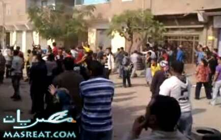 توابع احداث كنيسة العمرانية|قتيل مسيحي واعتقال عشرات المتظاهرين