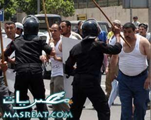 احداث وادي النطرون : قطع طريق مصر اسكندرية بعد نتيجة الانتخابات