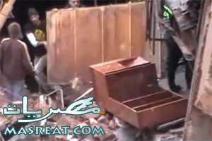 حادث انهيار مصنع محرم بك الاسكندرية| يوتيوب فيديو