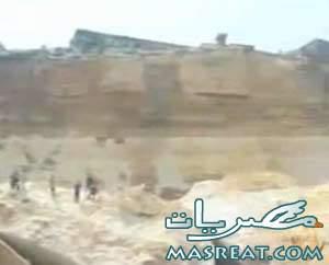 انهيار جبل المقطم في منشأة ناصر