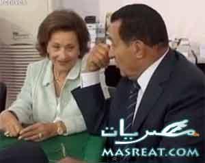 الافراج عن سوزان مبارك