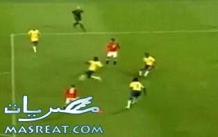 تشكيل المنتخب المصري واللاعبين في مباراة مصر والبرازيل اليوم