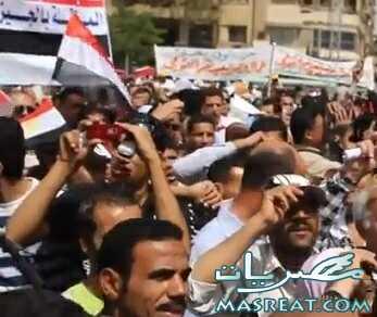 احداث يوم 25 يناير 2012 لا مكان للاخوان او السلفيين بين الثوار